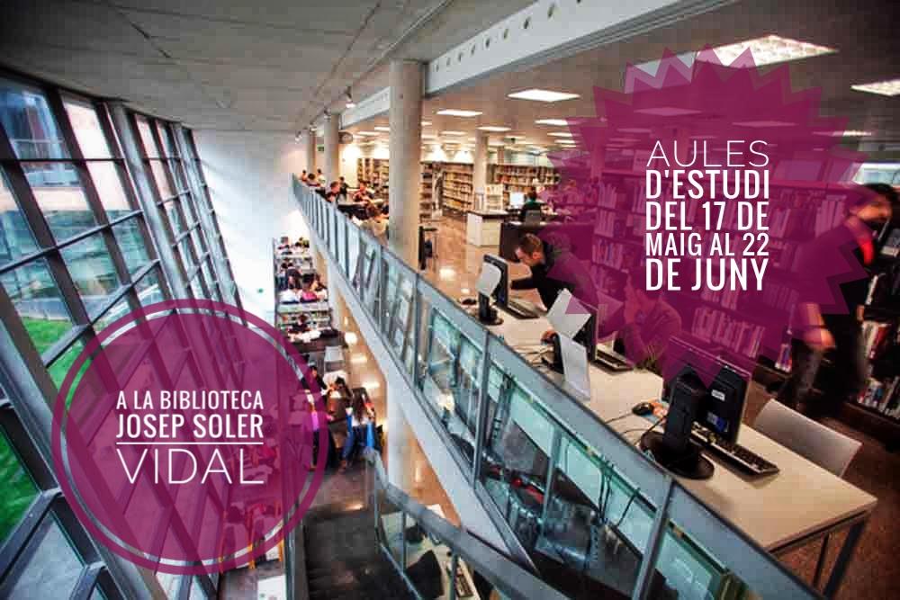 S'obren de nou les aules nocturnes a la Biblioteca Josep Soler Vidal